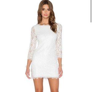DVF Zarita Lace Sheath Dress